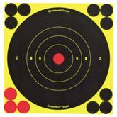 Birchwood Casey Shoot NC Self-Adhesive Targets - 3, 6 and 8 Bulls-Eye Packs - BULLSEYE-34550 BULLSEYE-34550