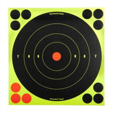 Birchwood Casey Shoot NC Self-Adhesive Targets - 3, 6 and 8 Bulls-Eye Packs - BULLSEYE-34805 BULLSEYE-34805