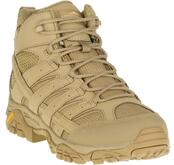 Merrell Moab 2 Mid Tactical Waterproof Boot Coyote front angled