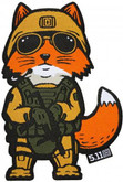 5.11 Tactical Fox Marine Patch 81075 888579123043