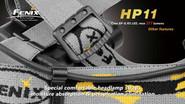 Fenix Lighting HP11 High Intensity 277 Lumens Headlamp HP11