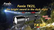 Fenix Lighting TK21 Cree XM-L LED 468 Lumens Tactical Flashlight TK21 6942870301044