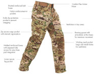 First Tactical Mens Multicam Defender Pant 114002MC