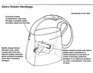 Galco Meridian Holster Handbag instructions