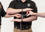 ASP Transport Waist Chain with Rigid Ultra Cuffs 56176-ASP 092608561762