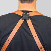"""Galco 2.75"""" Shoulder Harness tan feature"""