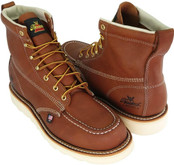 """Thorogood Men's American Heritage 6"""" Non-Safety Moc Toe Wedge Boot 814-4200 - Sides"""