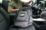 LA Police Gear Commuter and School Backpack COMMUTER-PACK