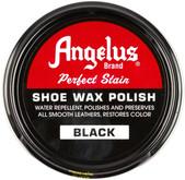 Angelus 3 oz Black Shoe Wax Polish 400-03-001 086366400012