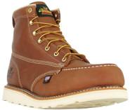 "Thorogood Men's American Heritage 6"" Moc Toe Safety Toe 804-4200 - Front"
