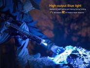 Fenix TK25 Blue-Red Light Flashlight TK25RBBK 6942870304793