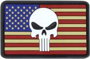 Condor Punisher US Flag PVC Patch 181013-004 022886269388