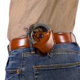 Galco SC9 Cuff Case tan belt