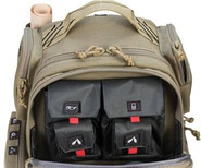 G-Outdoors GPS Tactical Double Handgun Range Backpack GPS-T1610BPT 819763012218