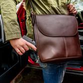 Galco Pandora Holster Handbag ccw detail