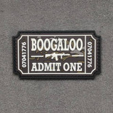 Tactical Outfitters Boogaloo Ticket PVC Patch BOOGALOO-TICKET