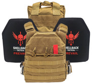 Shellback Tactical Defender Active Shooter Kit with Level IV Plates SBT-ACTSHOOT-AR