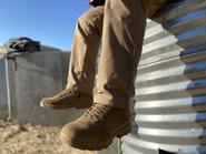 LA Police Gear Sector Coyote 8 Side-Zip Duty Boot D8201SZCB