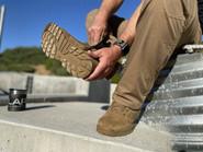 LA Police Gear Sector Coyote 8 Side-Zip Waterproof Duty Boot D8201SZWPCB