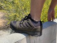 LA Police Gear Terrain Dark Charcoal Low Hiking Boot H2201LBK