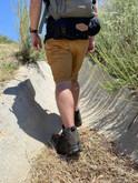LA Police Gear Terrain Dark Charcoal Mid Hiking Boot H4201MBK