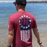 LA Police Gear 1776 Flag T-Shirt 1776-FLAG