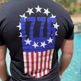 LA Police Gear 1776 Flag T-Shirt