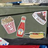 LA Police Gear Boom Sauce 4.5 x 1.7 Sticker BOOMSAUCE-ST 840041777352