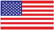 LA Police Gear Jumbo Red, White, and Blue US Flag 8 x 4.5 Sticker FLAGSTICKER-RWB-J