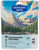Backpackers Pantry Cuban Coconut Rice and Black Beans - 2 Servings 102315
