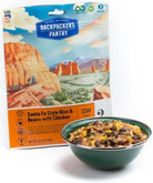 Backpackers Pantry Santa Fe Rice and Beans w/ Chicken - 2 Servings 102448