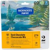 Backpackers Pantry Dark Chocolate Cheesecake Mix - 2 Servings 102612