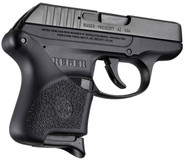 Hogue Ruger LCP Black Handall Hybrid Grip Sleeve right profile
