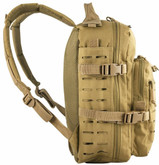 Red Rock Outdoor Gear Transporter Day Pack Coyote Side Detail
