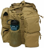 Red Rock Outdoor Gear Operations Duffle Bag Coyote Side