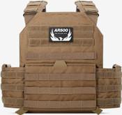 AR500 Armor Testudo Lite Plate Carrier - Coyote