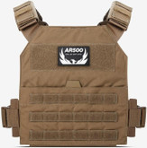 AR500 Armor Veritas Lite Modular Plate Carrier - Coyote