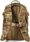 5.11 Tactical RUSH 12 2.0 Multicam Backpack - Back