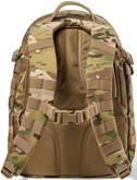 5.11 Tactical RUSH 24 2.0 Multicam Backpack - Back