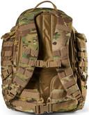 5.11 Tactical RUSH 72 2.0 Multicam Backpack - Back