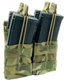Shellback Tactical Double Stacker Open Top M4 Magazine Pouch - SBT-2200 - Black - Only 19.99 - |LA Police Gear|