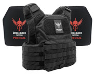 Shellback Tactical Shield Active Shooter Kit with Level IV 1155 Plates - SBT-9010-1155 - Black - Only 389.99 -  LA Police Gear 