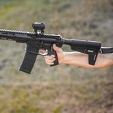Magpul BSL Mil-Spec Arm Brace in use