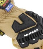 Mechanix Wear Durahide M-Pact Insulated Driver F9-360 Glove knuckles
