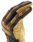 Mechanix Wear Durahide M-Pact Framer Leather Glove fingers