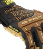 Mechanix Wear Durahide M-Pact Framer Leather Glove knuckles