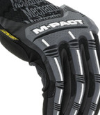 Mechanix Wear M-Pact Open Cuff Black/Grey Glove knuckles