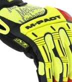 Mechanix Wear M-Pact D4-360 Hi-Viz Glove knuckles