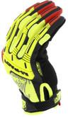 Mechanix Wear M-Pact D4-360 Hi-Viz Glove fingers