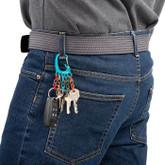 Nite Ize BigFoot Locker Aluminum KeyRack belt loop